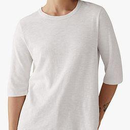 Toast Emma Cotton Half Sleeve T-Shirt, Chalk White   John Lewis (UK)
