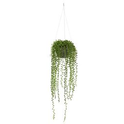 Nearly Natural String of Pearl Artificial Plant Hanging Basket | Walmart (US)