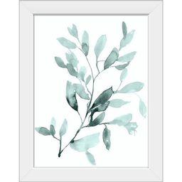 "My Texas House Mint Mist Botanical Framed Print Set of 2, 12"" x 16"" | Walmart (US)"