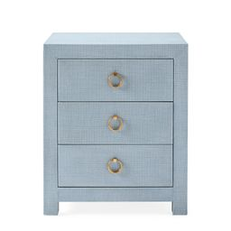 Driftway 3-Drawer Nightstand   Serena and Lily
