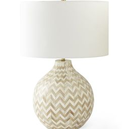 Westerly Bone Inlay Table Lamp   Serena and Lily
