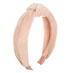 Corduroy Top Knot Headband, Pink | Kohl's