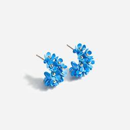 Soft bouquet hoop earrings | J.Crew US