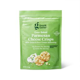 Parmesan Sour Cream and Onion Baked Cheese Crisp - 2.12oz - Good & Gather™ | Target