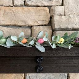 Whimsy Easter Garland Easter egg garland lambs ear garland | Etsy | Etsy (US)