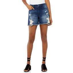 Scoop Women's Retro Boy Denim Shorts   Walmart (US)