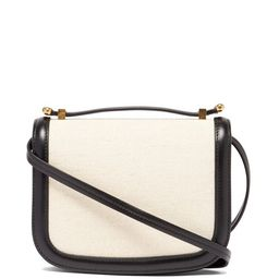 Leather-trim canvas cross-body bag   Matchesfashion (Global)