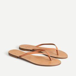 Capri sandals in leather   J.Crew US