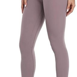Hawthorn Athletic Women's Essential High Waisted Yoga Pants Active Ankle Legging-25'' | Amazon (US)