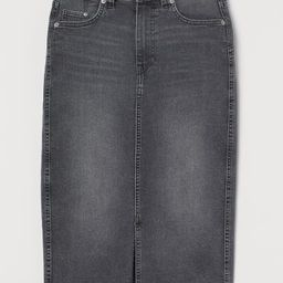 Denim Pencil Skirt | H&M (US)