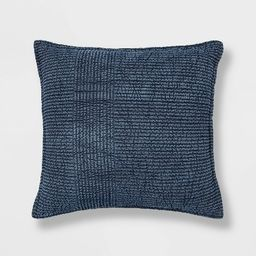Quilted Solid Pillow Chambray - Threshold™ | Target
