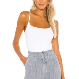 Free People Strappy Basique Bodysuit in White from Revolve.com | Revolve Clothing (Global)