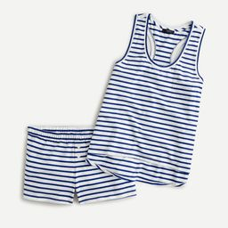 Dreamy pajama tank set in stripe | J.Crew US