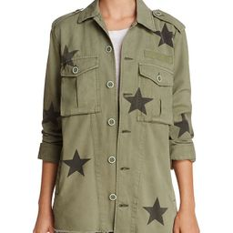 Camilo Star Print Military Jacket   Bloomingdale's (US)