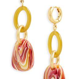 Madewell | Link drop hoop earrings | Nordstrom Rack | Nordstrom Rack