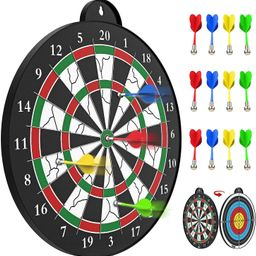 STREET WALK Magnetic Dart Board - 12pcs Magnetic Dart - Excellent Indoor Game and Party Games - S... | Amazon (US)