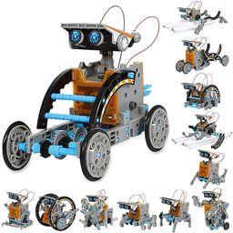 Sillbird STEM 12-in-1 Education Solar Robot Toys -190 Pieces DIY Building Science Experiment Kit ... | Amazon (US)