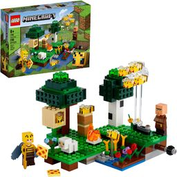 LEGO Minecraft The Bee Farm 21165 Minecraft Building Action Toy with a Beekeeper, Plus Cool Bee a... | Amazon (US)