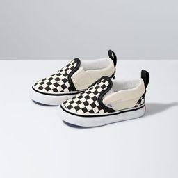 Toddler Checkerboard Slip-On V   Vans (US)