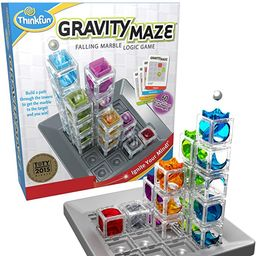 ThinkFun Gravity Maze Marble Run Brain Game and STEM Toy for Boys and Girls Age 8 and Up – Toy ...   Amazon (US)
