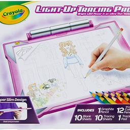Crayola Light Up Tracing Pad Pink, Valentines Day Gifts for Kids, Gift for Girls & Boys, Age 6, 7...   Amazon (US)