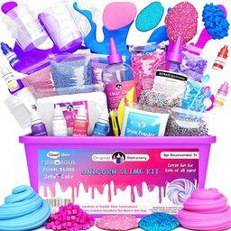 Original Stationery Unicorn Slime Kit Supplies Stuff for Girls Making Slime [Everything in One Bo...   Amazon (US)
