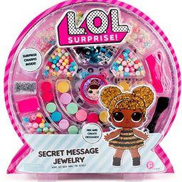 L.O.L. Surprise! Secret Message Jewelry by Horizon Group USA, DIY Jewelry Making Craft Kit, Inclu...   Amazon (US)