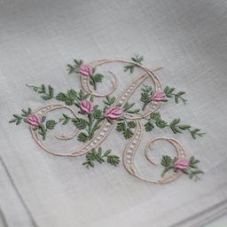 Wedding Monogrammed Napkins, Cloth Embroidered Napkins, personalized napkins, birthday napkins, t...   Etsy (US)