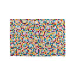 5x8' Rainbow Dot Rug + Reviews | Crate and Barrel | Crate & Barrel
