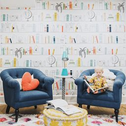Leo's Library Mural | Project Nursery