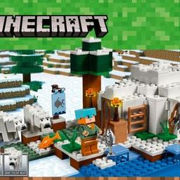 LEGO - Minecraft The Polar Igloo 21142 | Best Buy U.S.