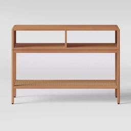 Minsmere Caned Console Table Natural Brown - Opalhouse™ | Target