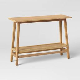 Haverhill Wood Console Table - Threshold™ | Target