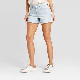 Women's High-Rise Slim Fit Jean Shorts - Universal Thread™   Target