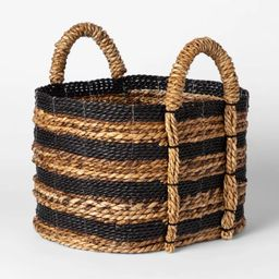 Basket Striped Black/Natural - Threshold™ | Target