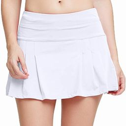 Women's Active Athletic Skort Lightweight Quick Dry Shorts Breathable Running Tennis Golf Workout... | Amazon (US)