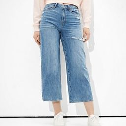 AE Wide Leg Crop Jean | American Eagle Outfitters (US & CA)