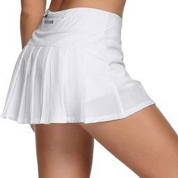 Women Ultra Skirt with Athletic Shorts Gym Skorts Sports Tennis Skirt 80322 | Amazon (US)
