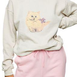 Kitten Graphic Sweatshirt | Nordstrom