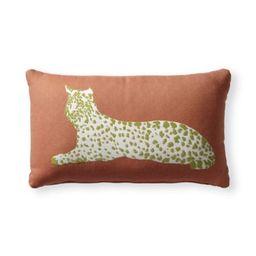 Bobcat Indoor/Outdoor Pillow | Frontgate | Frontgate