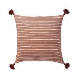 Sunbrella® Sail Stripe Pillow Cover | Serena and Lily