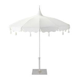 Alicante Tassel Umbrella | Serena and Lily