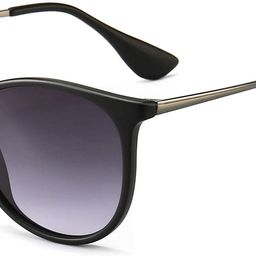 Vintage Round Sunglasses for Women Men Classic Retro Designer Style | Amazon (US)