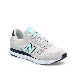New Balance 311 Sneaker - Women's - Light Grey/Light Blue - Size 7 | DSW