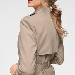 Aniston CASUAL Trenchcoat in Beige   ABOUT YOU (DE)