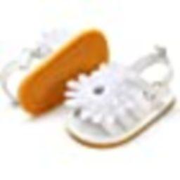 Infant Baby Girls Summer Sandals with Flower Soft Sole Newborn Toddler First Walker Crib Dress Sh... | Amazon (US)