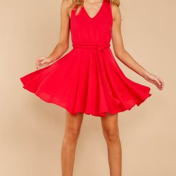 Quite Simply Red Dress | Red Dress