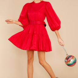 Aura Desirable Outcome Red Dress | Red Dress