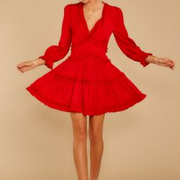 Love Is Automatic Red Dress | Red Dress