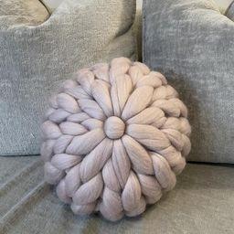 Chunky Knit Cushion Decorative Pillow Merino Wool Luxury   Etsy   Etsy (UK)